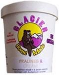 Empty Glacier pint container
